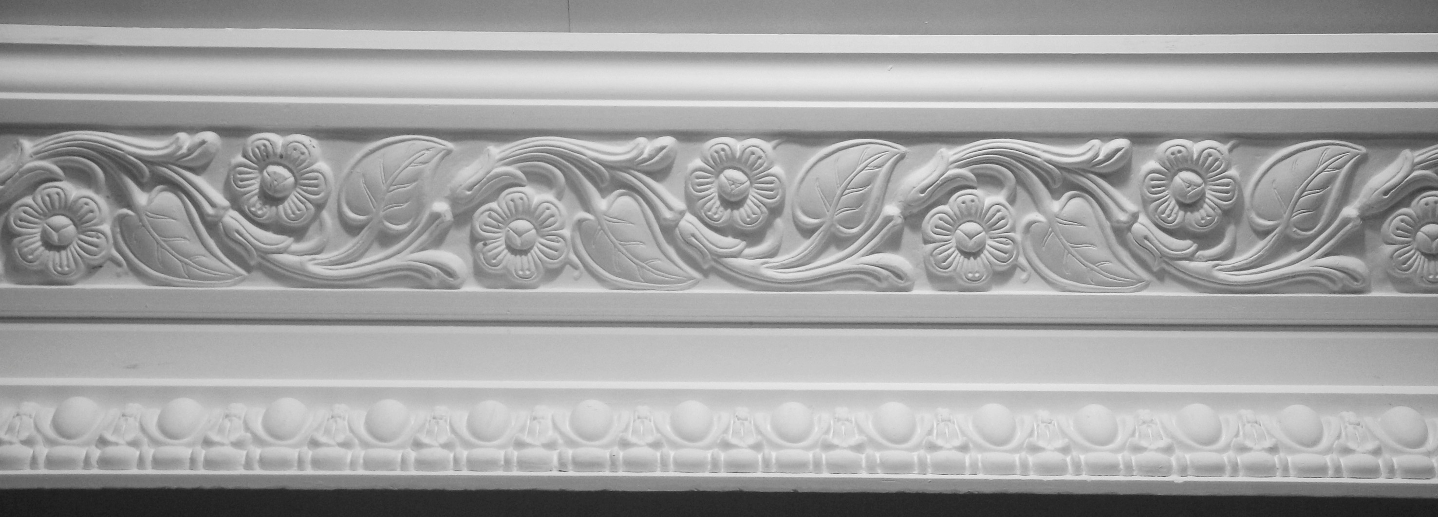 Arts crafts cornices 1910 1920 for Ceiling cornice ideas