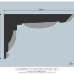 CR 195 Victorian Cornice/Coving