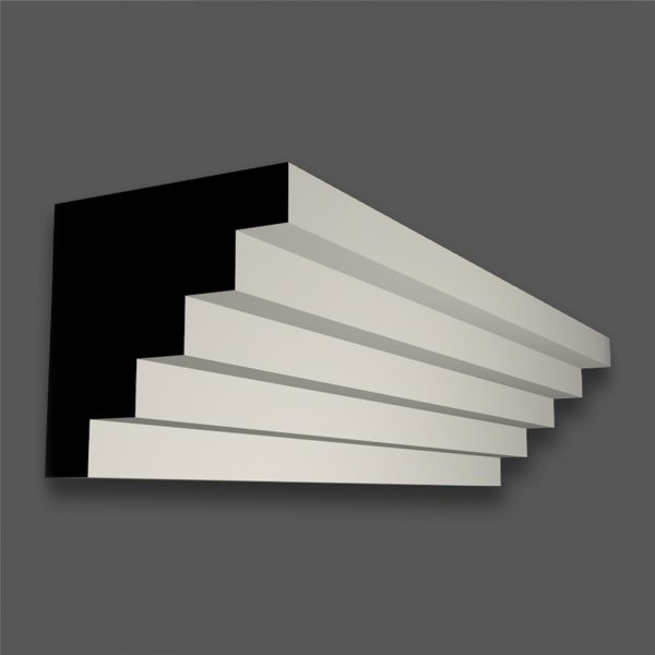 CR 274 M (30mm Step) Contemporary Cornice/Coving