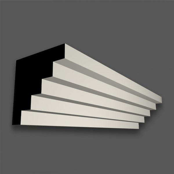 CR 274 S (25mm Step) Contemporary Cornice/Coving